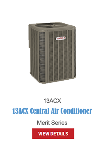 lennox a/c, central air, air conditioning, hvac, cooling, thermostats, 13ACX