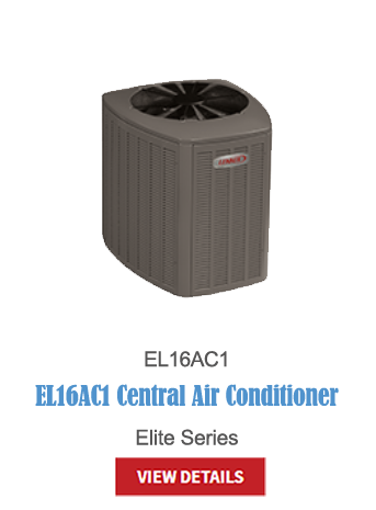lennox a/c, central air, air conditioning, hvac, cooling, thermostats, EL16AC1