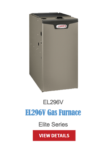 gas furnaces, heating, furnace, high-efficiency, hvac, EL296V
