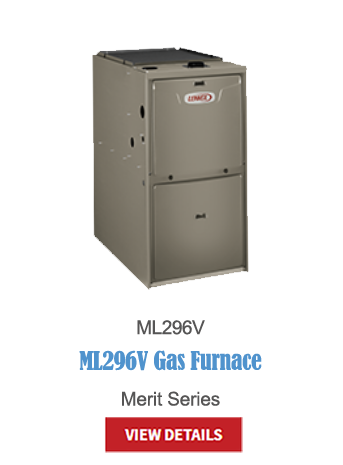 gas furnaces, heating, furnace, high-efficiency, hvac, ML296V