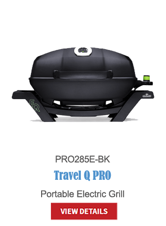 gas grills, bbq, napoleon, crown verity, broil king, portable bbq, camping bbq, electric BBQ, Travel Q pro PRO285E-BK