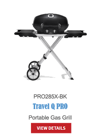 gas grills, bbq, napoleon, crown verity, broil king, portable bbq, camping bbq, Travel Q pro PRO285X-BX