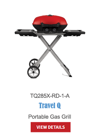 gas grills, bbq, napoleon, crown verity, broil king, portable bbq, camping bbq, travel Q, TQ285X-RD-1-A