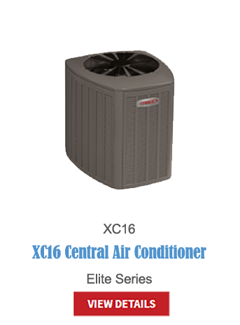lennox a/c, central air, air conditioning, hvac, cooling, thermostats, XC16