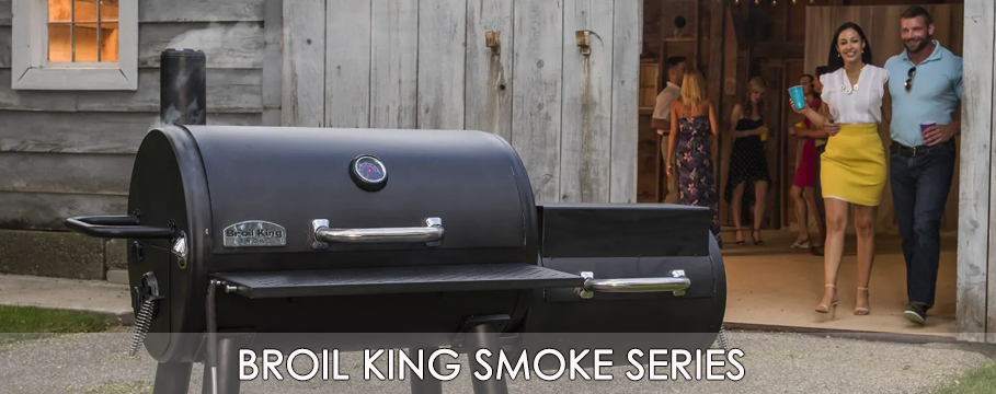 2019 broil king smoke series banner
