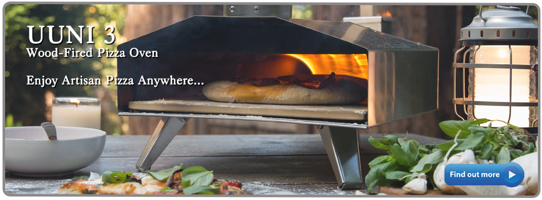 2020 Uuni 3 wood fired pellet pizza oven