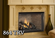 864 Travis Gas Fireplace
