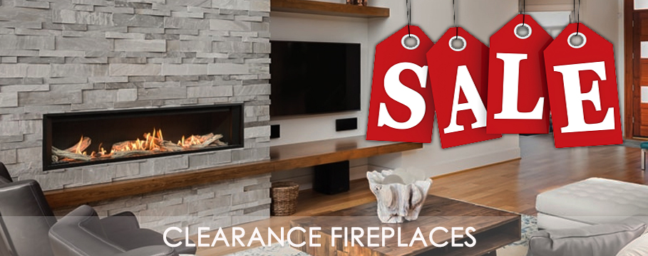 Fireplace sale clearance
