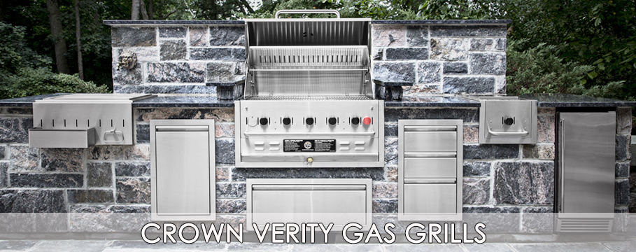 crown verity gas grills