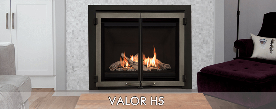 valor h5 radiant gas fireplace