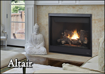 altair astria gas fireplace
