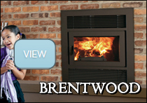 astria brentwood wood fireplace