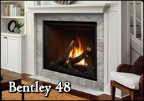 marquis bentley 48 gas fireplace