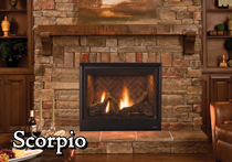 Astria Scorpio Direct Vent Fireplace